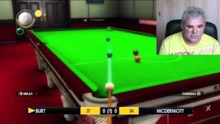 Burt Vs Mcdermott WSC Snooker 2011 Xbox 360