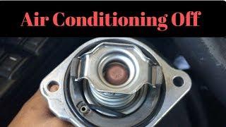 Temperature Gauge Inoperative - A/C Off - P0128 Thermostat Temperature Below Threshold