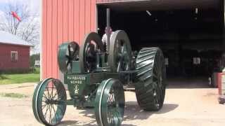 Hand Starting 1913 Fairbanks Morse Tractor 25 HP