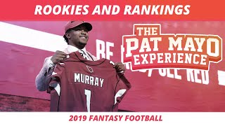 2019 Fantasy Football Rankings — Impact of First Round Rookies