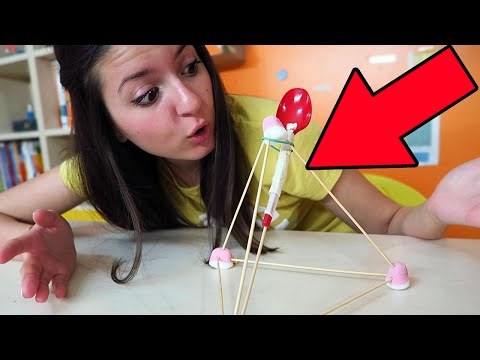 COME FARE UNA CATAPULTA COI MARSHMALLOW! (Creazioni Incredibili) #5
