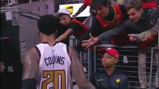 John Collins Slaps Kid After Getting Ejected! Hawks vs Nuggets