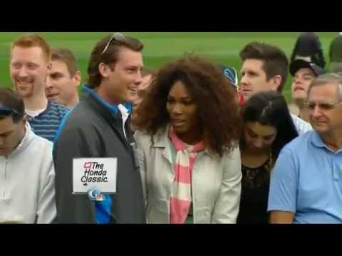 Serena Williams Embarrassed for attempting to take Tiger Woods Photo