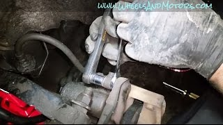 Replace rear brake pads, discs - car with electronic parking brake (EPB) (VW Sharan, SEAT Alhambra)