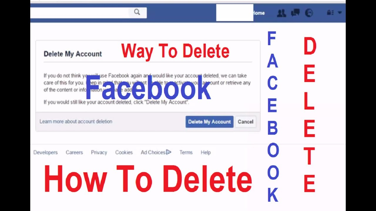 How to permanently delete your facebook account 2016 youtube how to permanently delete your facebook account 2016 ccuart Gallery