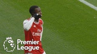 Eddie Nketiah's first Arsenal goal gets Gunners level vs Everton | Premier League | NBC Sports