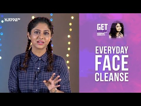 DIY Everyday Face Cleanse - Get Stylish with Poornima Indrajith