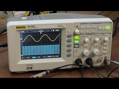 Unboxing Rigol DS1052E Oscilloscope