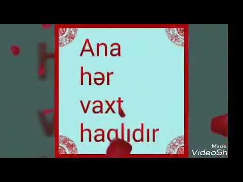Anaya aid video whatsapp ucun