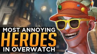 Top 5 Most Annoying Heroes in Overwatch