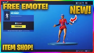 "*NEW* FREE ""HOT MARAT"" EMOTE IN FORTNITE! 