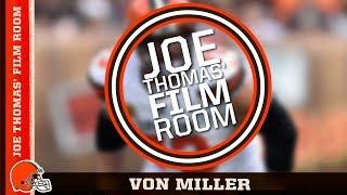 Joe Thomas' Film Room: Von Miller | Cleveland Browns