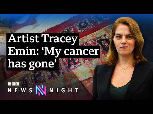Artist Tracey Emin on recovering from cancer and expressing tragedy in her work - BBC Newsnight