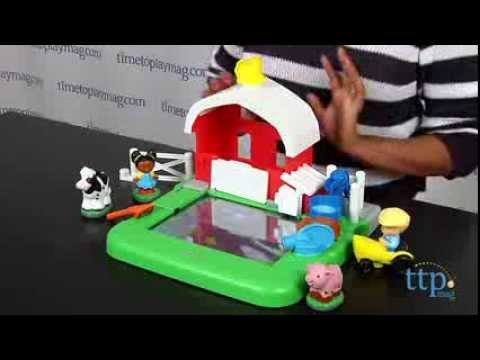Little People Apptivity Barnyard From Fisher Price Youtube