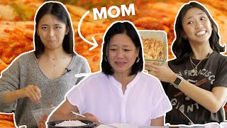 Parents Rate Their Children's Kimchi