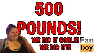 Amberlynn 500 Pounds!  We Did It!  Weight Loss Journey Of The Decade