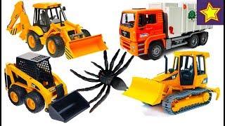 Про машинки Bruder для детей Все серии подряд Bruder toys for children