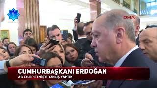 Cumhurbaşkanı Erdoğan: AB istedi zina yasağını kaldırdık, yanlış yaptık