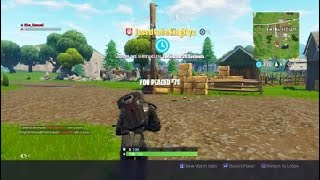 MY FIRST SOLO DEATH!! (Fortnite: Battle Royale)