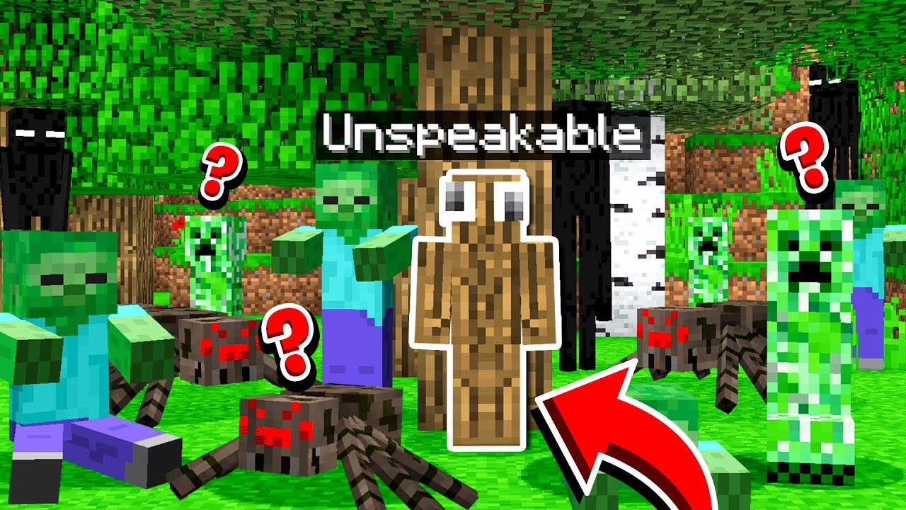 100 Mobs Vs Crazy Hide Seek Minecraft