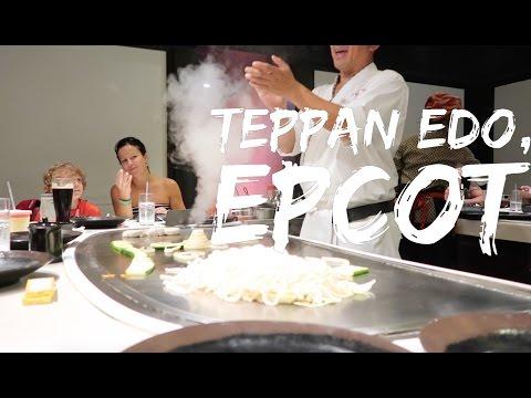 Teppan Edo at Epcot, Walt Disney World - Dinner Show - 2016