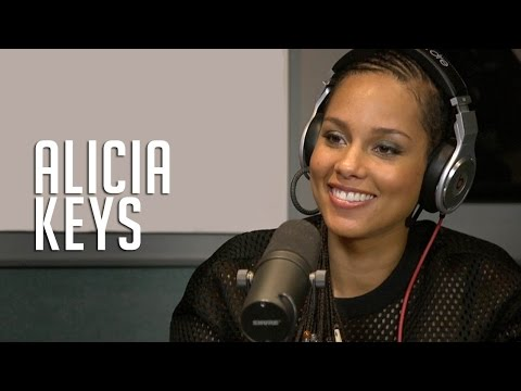 Alicia Keys gets labor advice from Ebro & discusses her new single