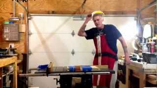 How To Cut Glass On A Table Saw