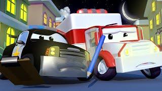 Авто Патруль Все украшения к Рождеству пропали Автомобильный Город детский мультфильм