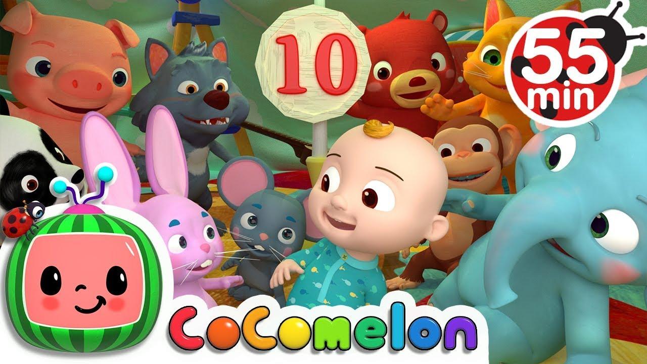 Ten in the Bed + More Nursery Rhymes \u0026 Kids Songs - CoComelon