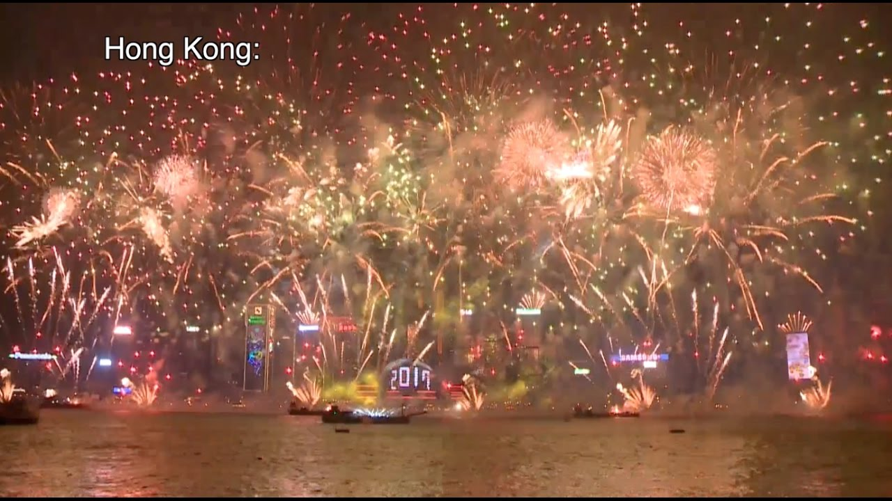 New Year Celebration across China  Beijing Shanghai HK    YouTube New Year Celebration across China  Beijing Shanghai HK