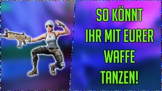 as you can with your weapon dancing | Fortnite | [german german HD]