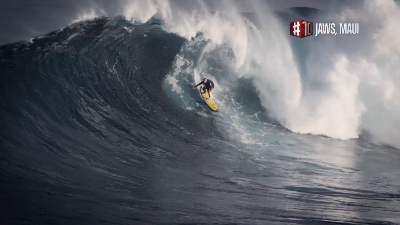 Phénomènes naturels, le top 10 : le spot de surf Jaws