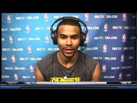 LAKERS Ramon Sessions Interview on NBATV 3/27/12