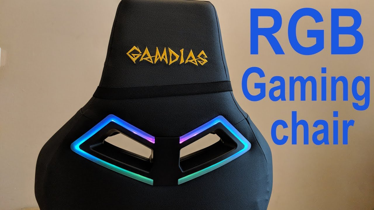 Gamdias Achilles Rgb P1 M1 E1 Gaming Chairs Review
