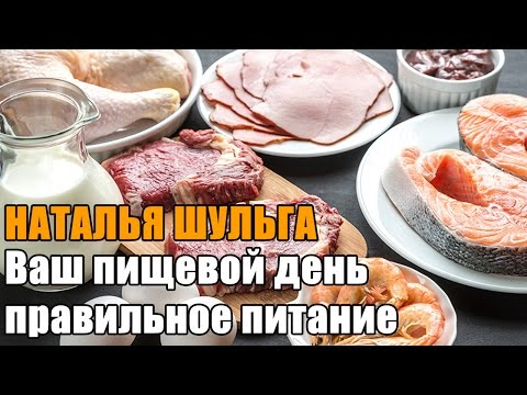 Наталья Шульга: Ваш пищевой день и правильное питание // NL STORE