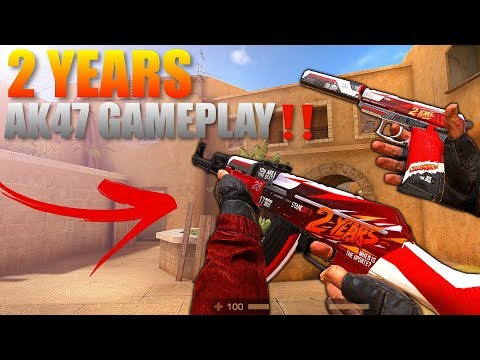 Standoff 2 Pro 2 Years AK47 Gameplay‼️