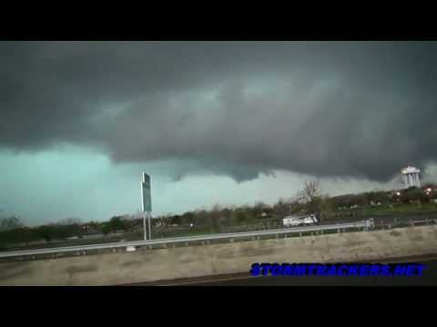 Storm Chase, Lawton OK 4/17/2013