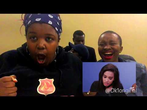 """Reaction vlog to Clevver TV """"Trying Foods from South Africa! (Cheat Day)"""""""