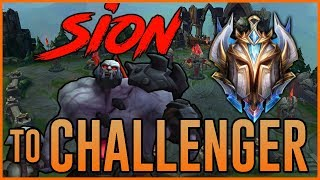 CHALLENGER SION - HIGHWAY to CHALLENGER - Ep. 26 - League of Legends Full Game Commentary