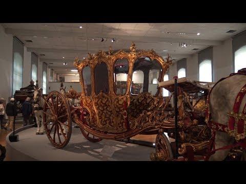 Schönbrunn Palace - Imperial Carriage Museum in 4K, Austria