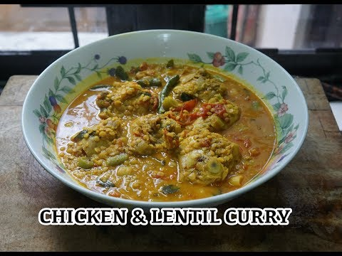 Chicken Lentil Curry Recipe - Easy Curry