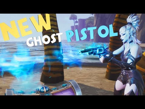 NEW Ghost Pistol! Fortnite Save The World! Review/Gameplay