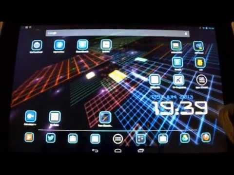 Glowing Lines Live Wallpaper