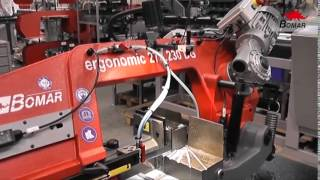 Bomar Ergonomic 275 230 Dg Bandsaw Demo Video