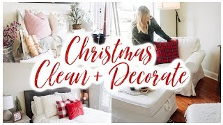 *NEW* CHRISTMAS CLEAN + DECORATE WITH ME (PART II) ✨🎄 FARMHOUSE CHRISTMAS DECOR 2019