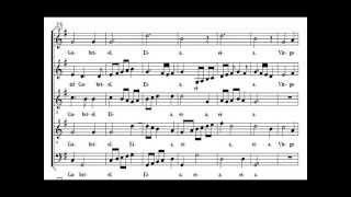 Resonet in Laudibus  Eccard SATB choir practice T125 T100