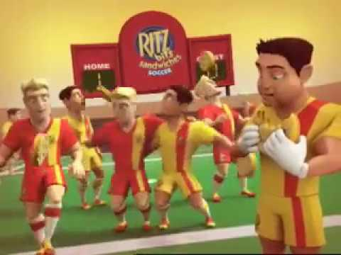 Download Ritz Bits Sandwiches Commercial - Soccer (2007)