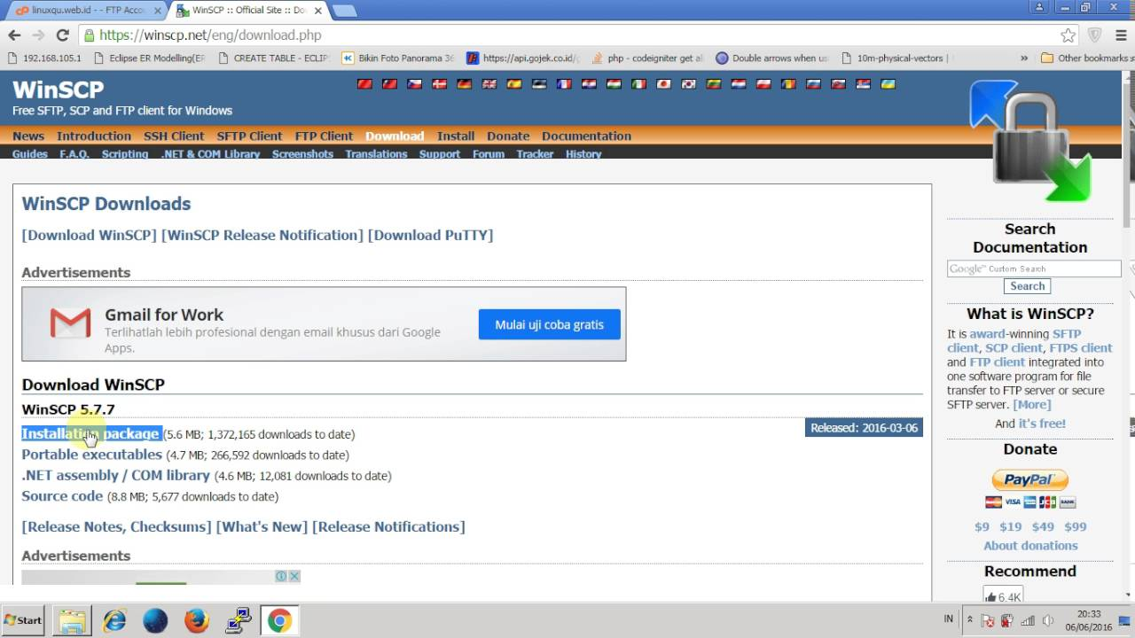 Winscp Tutorial - Create FTP website and access it with Winscp