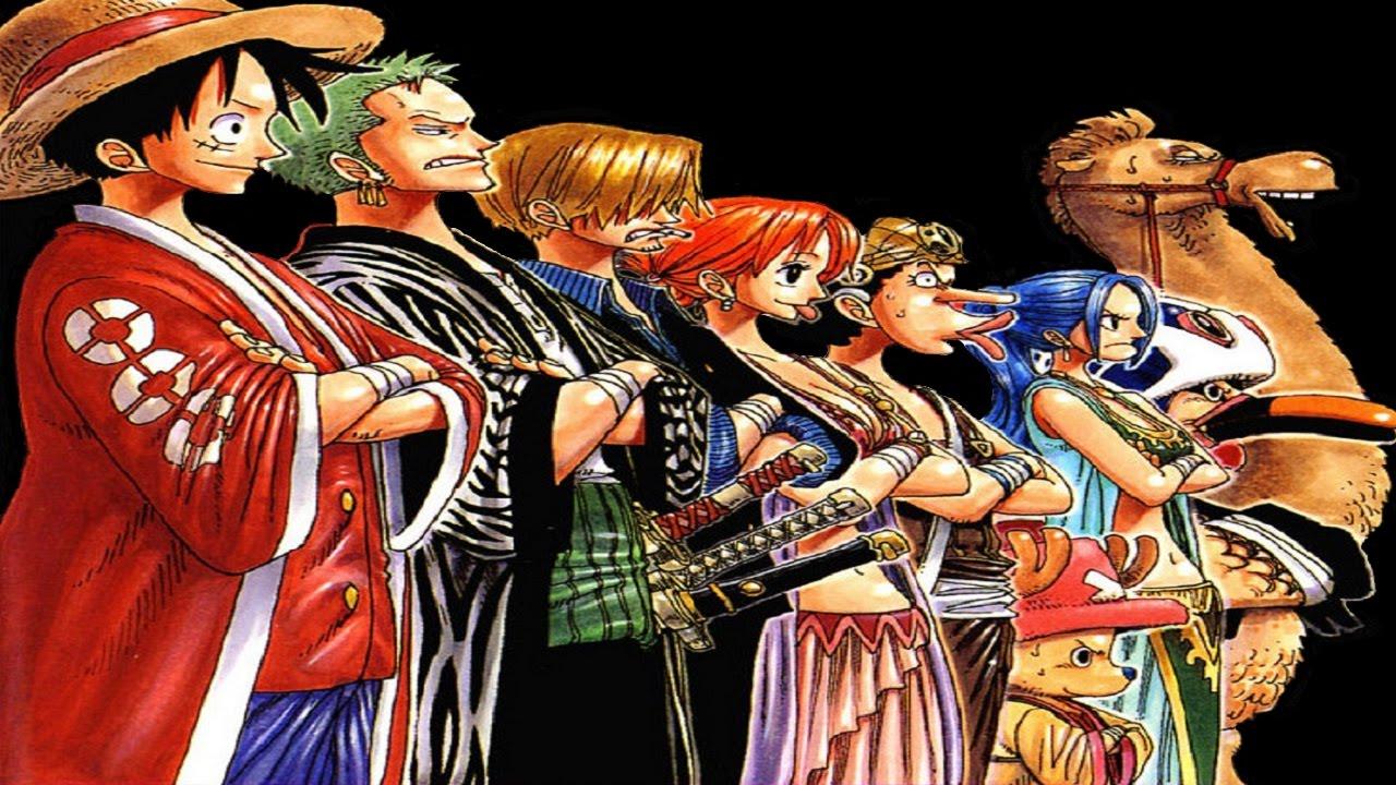 One Piece Manga Chapter 155-217 Alabasta Arc (Part 5 - 196 ...