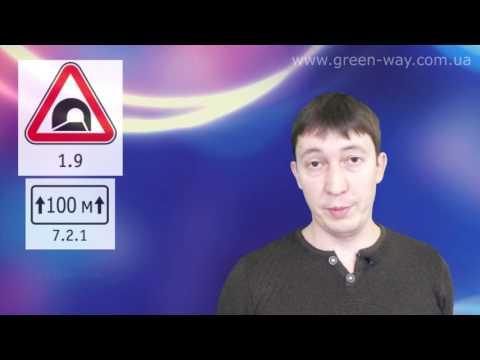 ПДД Украины. Раздел 33. Дорожные знаки. Предупреждающие знаки. Раздел полностью.